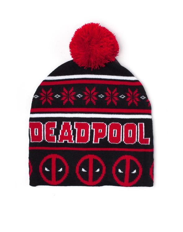 Čepice  Deadpool - Christmas