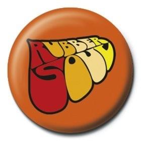 Chapitas  BEATLES - rubber soul logo