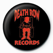 Chapitas Death Row (Red Logo)