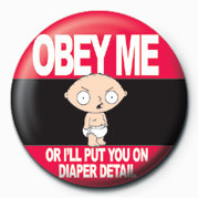 Chapitas Family Guy (Obey Me)