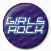 Chapitas  GIRLS ROCK