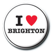 Chapitas I Love Brighton