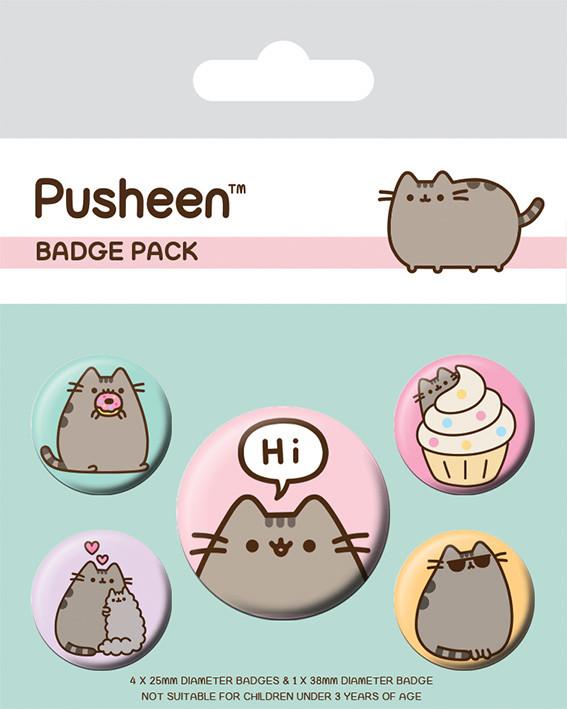 Chapita  Pusheen - Pusheen Says Hi