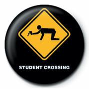 Chapitas  WARNING SIGN - STUDENT CRO