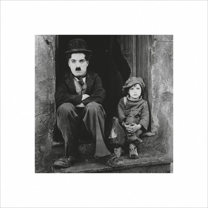 Charlie Chaplin  Festmény reprodukció