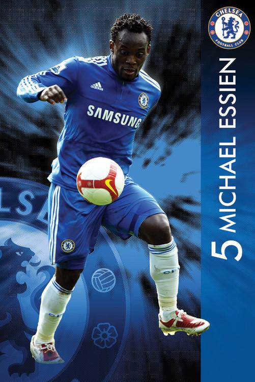 Chelsea - essien 09/10 - плакат (poster)