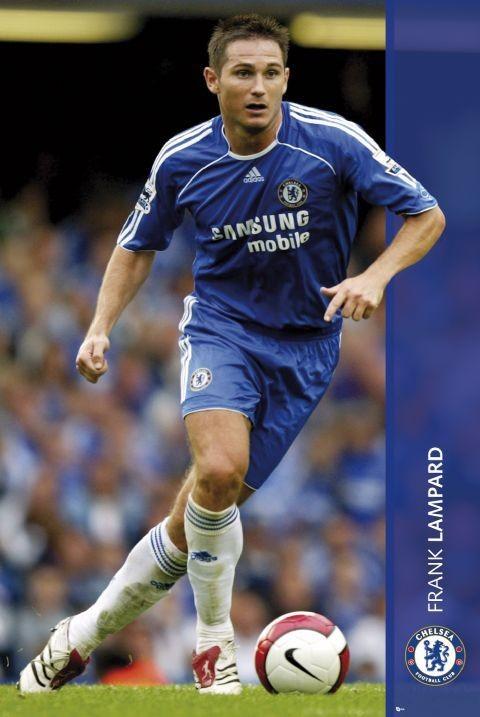 Chelsea - Lampard 06/07 - плакат (poster)