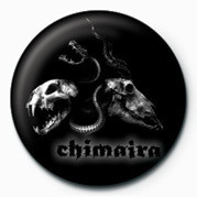 Chimaira (Skulls) Insignă