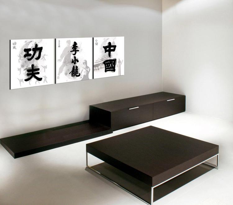 Cuadro  China Signs - Kung Fu. Bruce Lee, China