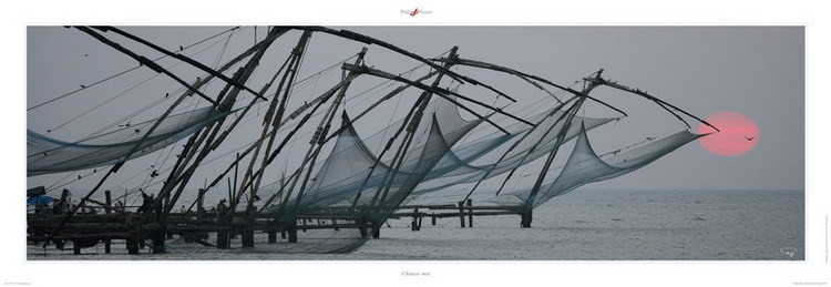 Chinese nets Festmény reprodukció