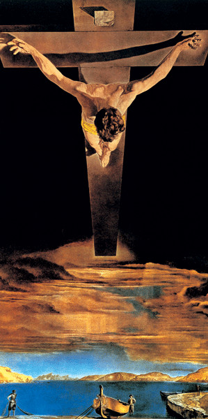 Christ of Saint John of the Cross, 1951 Festmény reprodukció