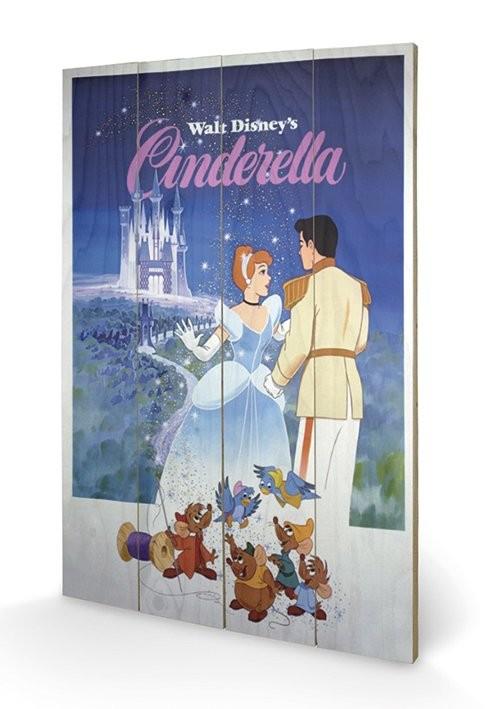 Cinderella Pictură pe lemn