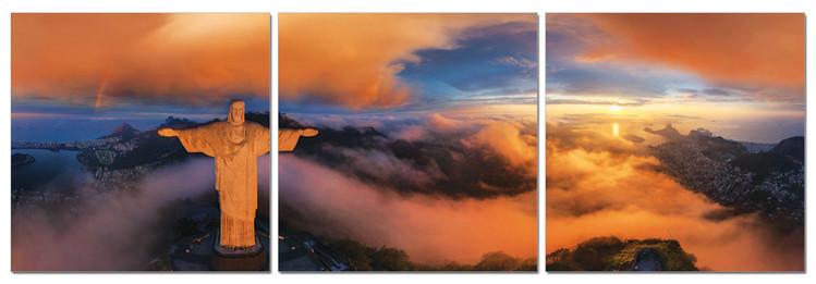 Cuadro Clouds over Rio de Janeiro