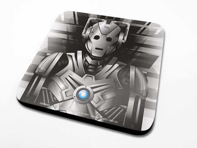 Doctor Who - Cyberman Coasters