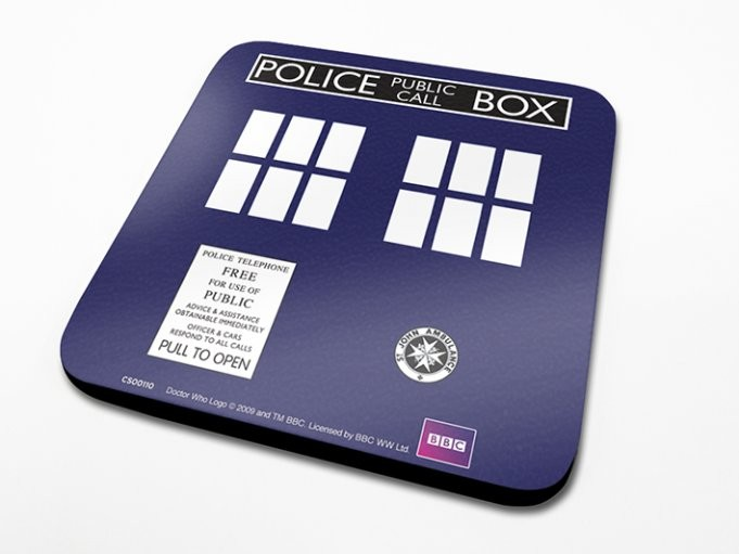 Doctor Who - Tardis Coasters