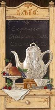 Coffee and Fruit II kép reprodukció