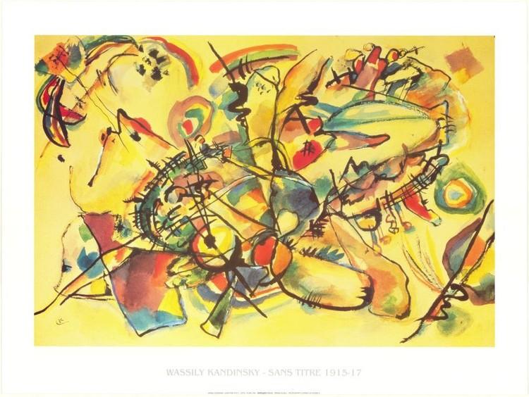 Composition 1917 Festmény reprodukció