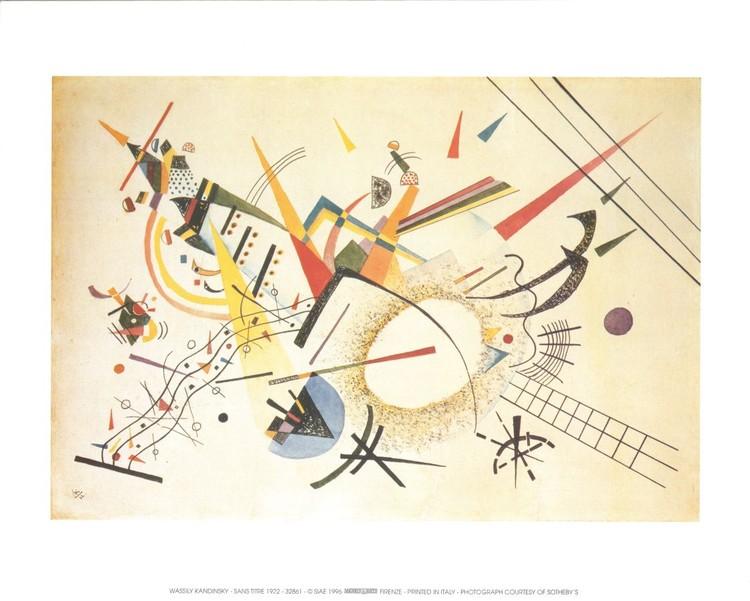 Composition 1922 Festmény reprodukció