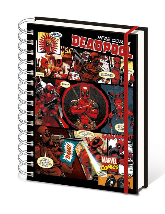 Cuaderno Deadpool