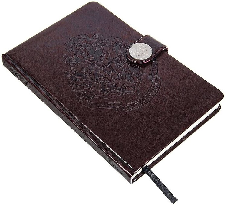 Cuaderno Harry Potter - Hogwarts Crest / Clasp Premium