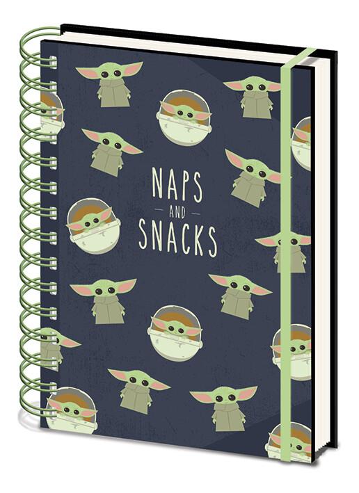 Cuaderno Star Wars: The Mandalorian - Snacks and Naps