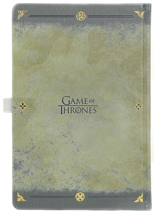 Game Of Thrones - Stark Worn Premium Cuaderno