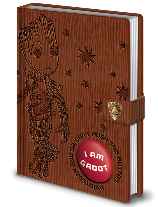 Guardianes de la Galaxia Volumen 2 - I Am Groot - PREMIUM LIMITED SOUND NOTEBOOK Cuaderno