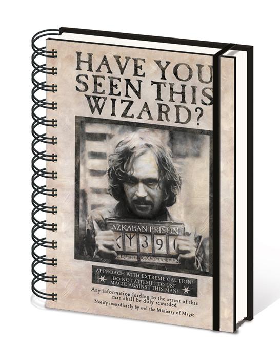 Harry Potter - Wanted Sirius Black Cuaderno