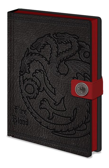 Juego de Tronos - Targaryen Cuaderno