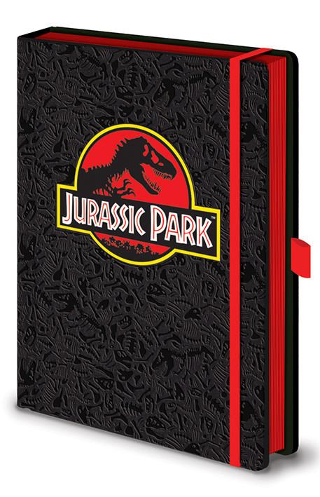Jurassic Park - Classic Logo Premium Cuaderno
