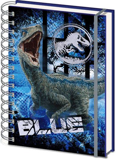Jurassic World Fallen Kingdom 3D Cover Cuaderno
