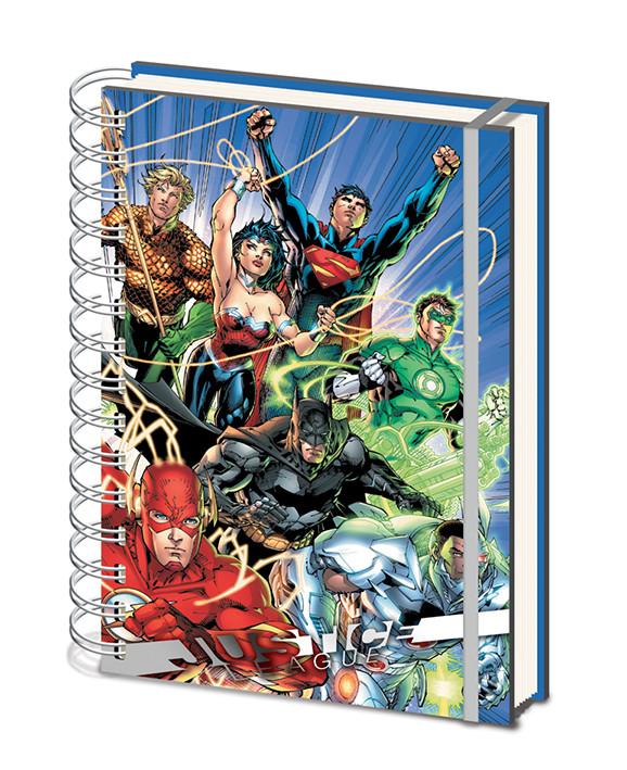 Justice League - United Cuaderno
