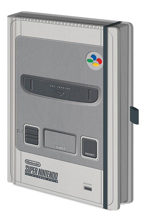 Nintendo – SNES Premium Cuaderno