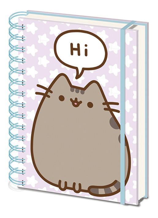 Pusheen - Pusheen Says Hi Cuaderno