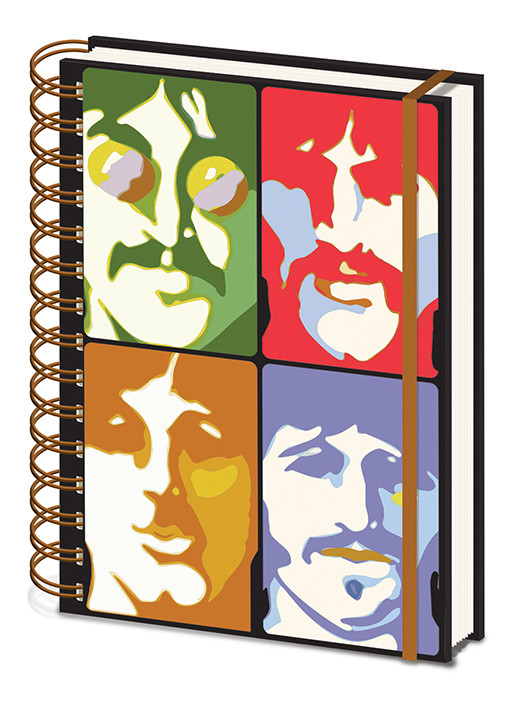 The Beatles - Yellow Submarine - Faces Cuaderno