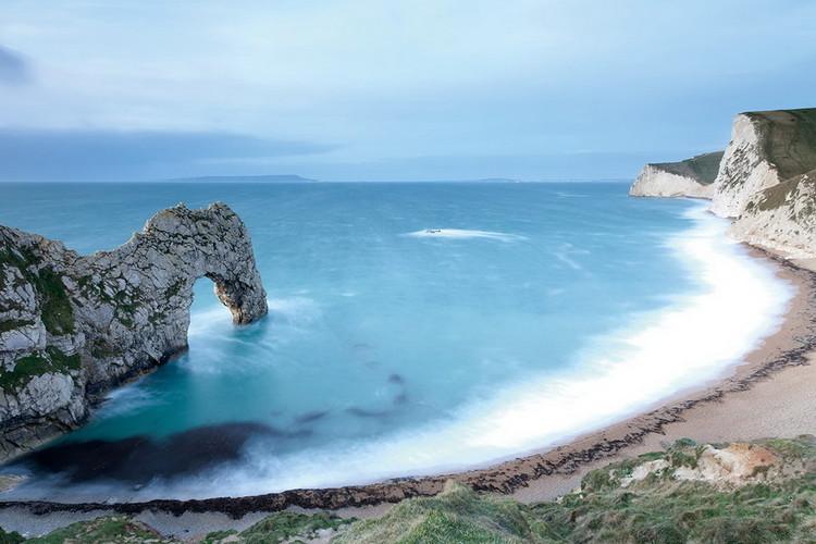 Cuadro en vidrio Gate into the Ocean