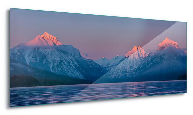 Cuadro en vidrio  Mountain View