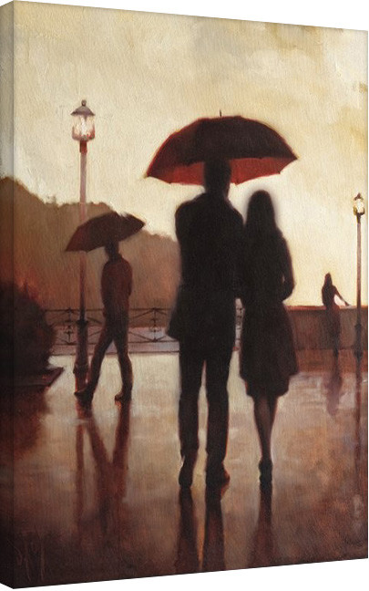 Bilden på canvas Daniel Del Orfano - Where We First Met