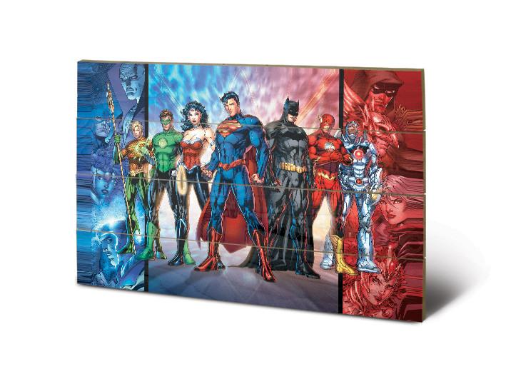 Bild auf Holz DC Comics - Justice League United
