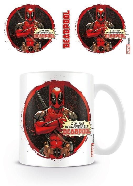 Hrnek Deadpool - Insufferable
