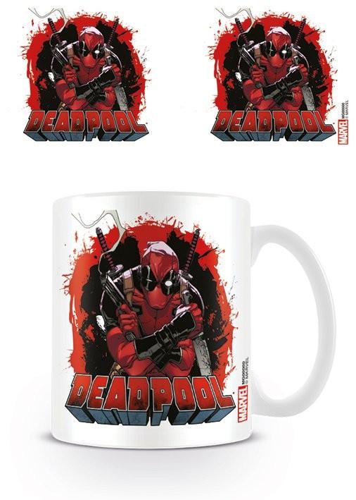Hrnek Deadpool - Smoking Gun