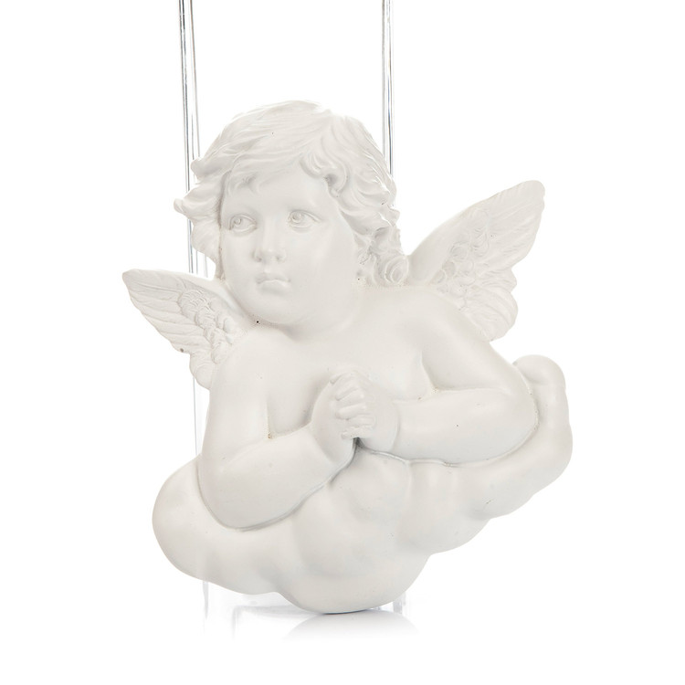 Angel on Cloud Praying, Hanging Decoration 9 cm Decorazione per la casa