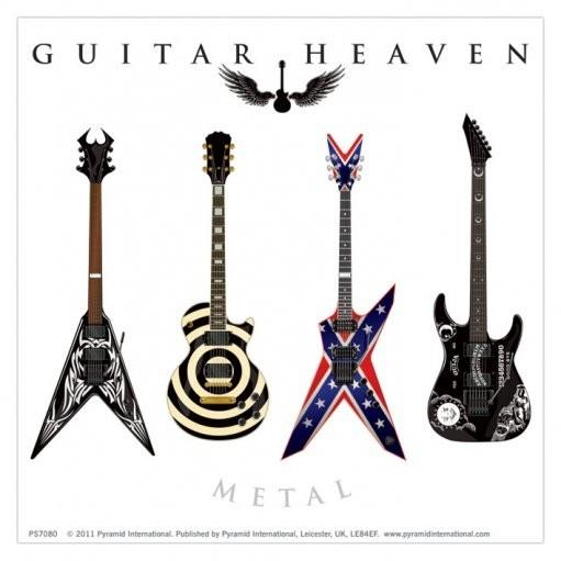 GUITAR HEAVEN - metal - dekorációs tapéták