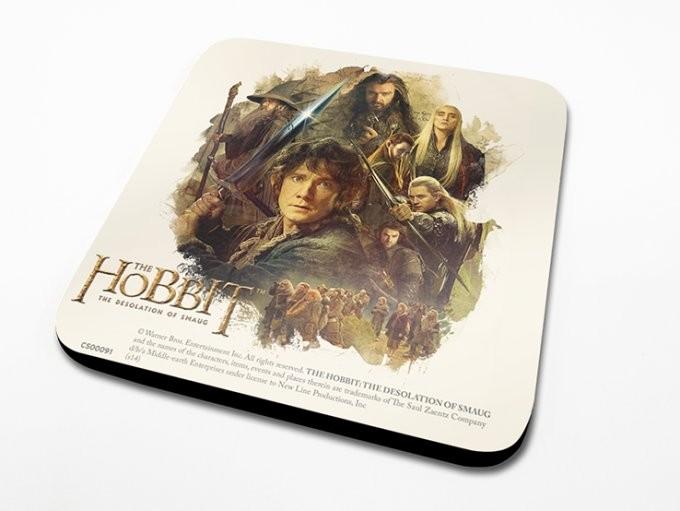 Le Hobbit – Montage Dessous de Verre