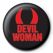 DEVIL WOMAN Insignă