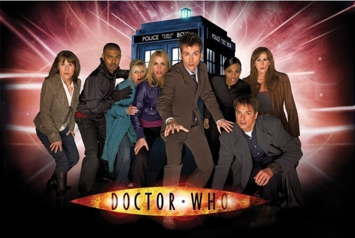 DOCTOR WHO - children of time - плакат (poster)