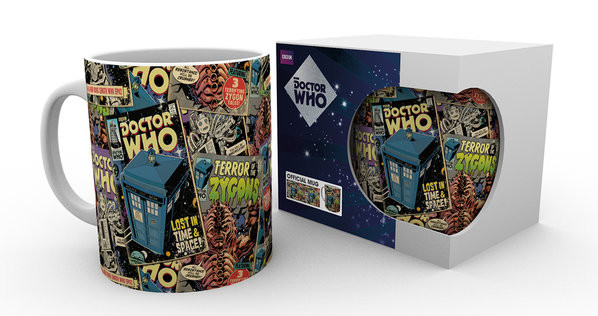 Hrnek Doctor Who - Comic Books