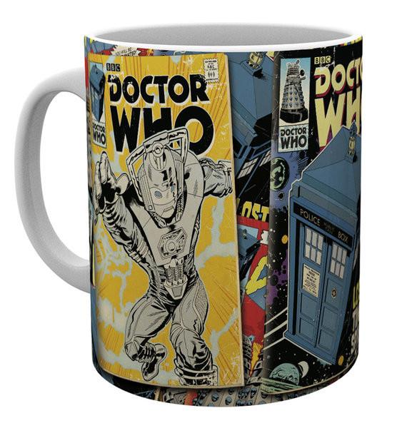 Hrnek Doctor Who - Comics