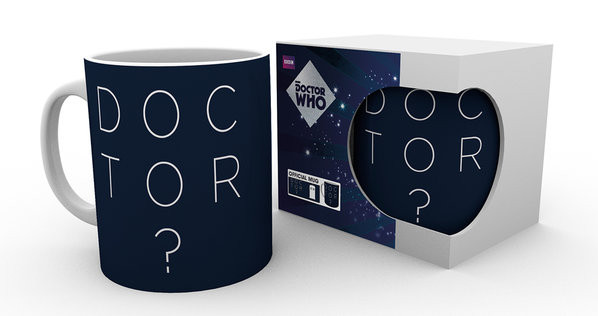 Hrnek Doctor Who - Doctor Who Type