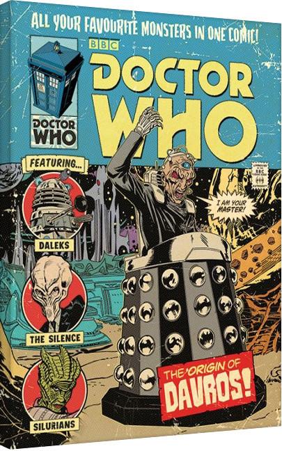 Vászon Plakát Doctor Who (Ki vagy, doki?) - The Origin of Davros